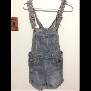 Free People Shorts Overalls